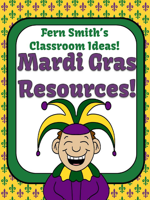 Fern Smith's Classroom Ideas Mardi Gras Resources on TeacherspayTeachers!