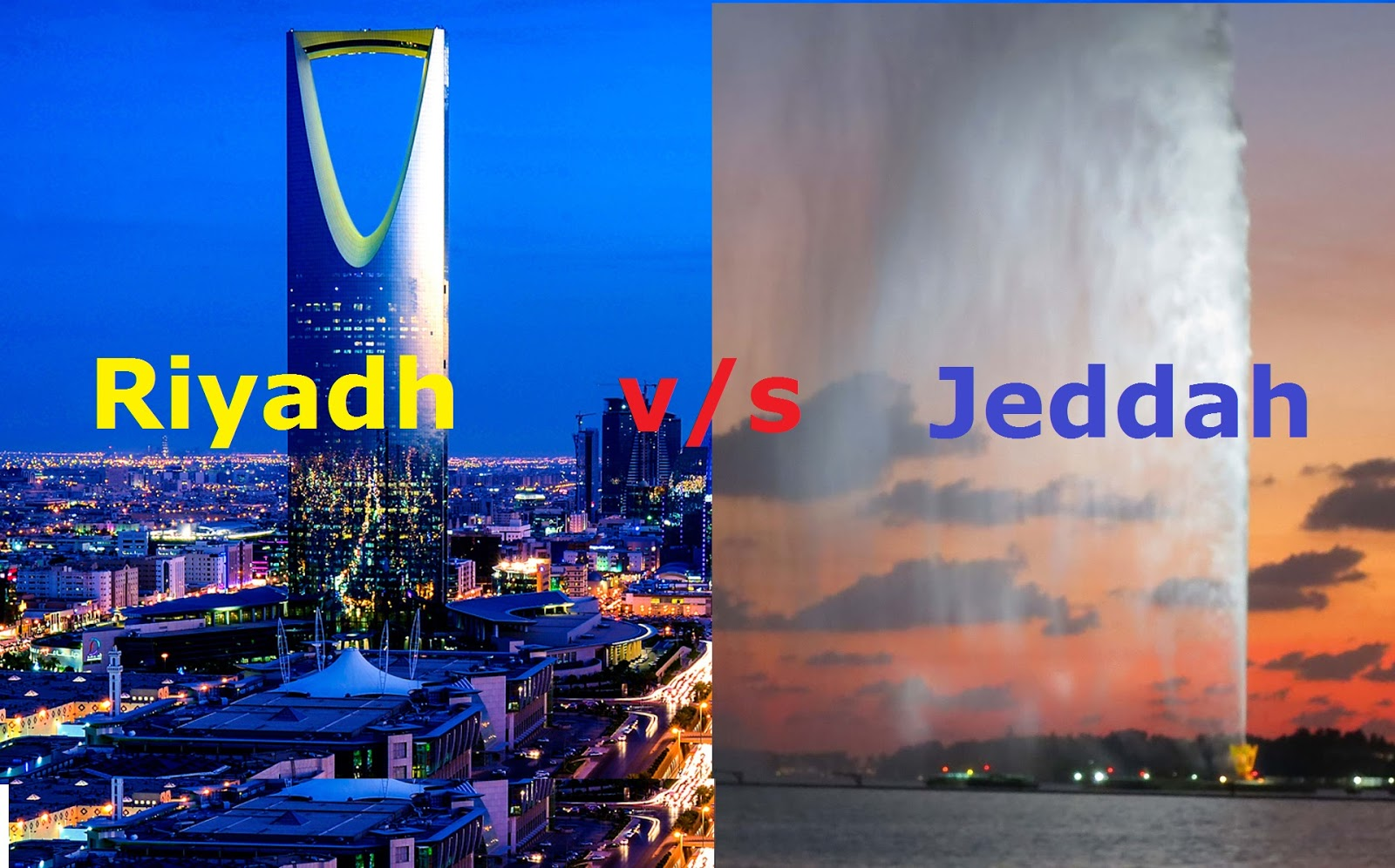 9 major differences between living in riyadh and jeddah life in if you are new to saudi arabia and have an option to settle down in anyone of these two cities ly riyadh and jeddah i think you have landed the correct