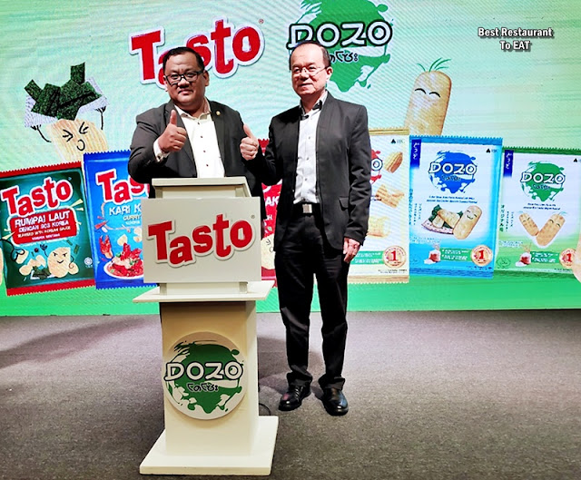TASTO Potato Chips and DOZO Rice Crackers Launch In Malaysia