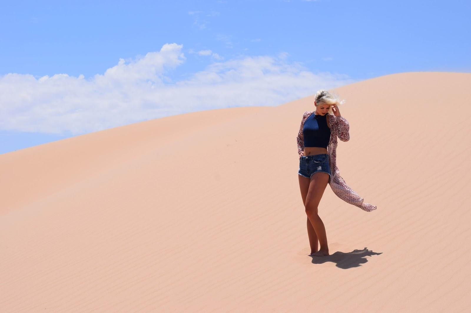 National park sand dunes