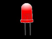 ليد احمر