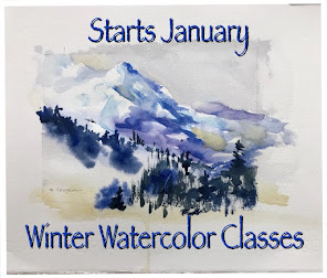 Winter  Watercolor Classes Online