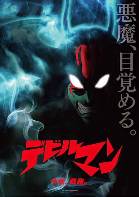 Plakat promujący nowe anime Devilman