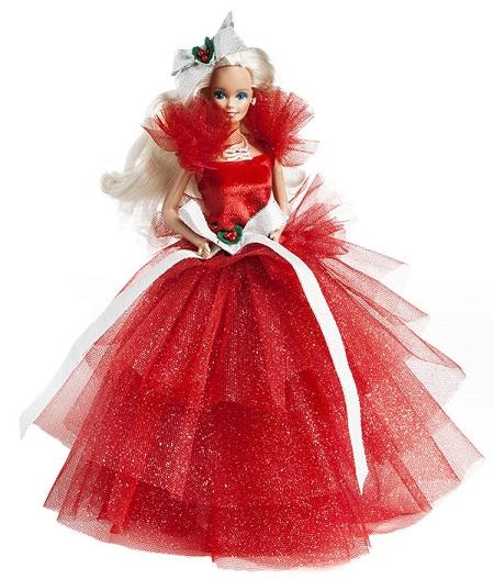 Barbie Feliz Natal 1988
