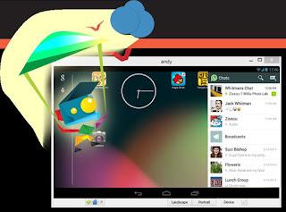نظام اندرويد على الكمبيوتر ببرنامج Andy OS