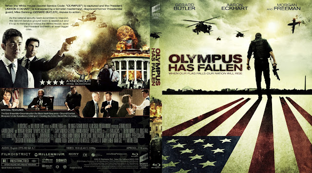 Capa Bluray Olympus Has Fallen
