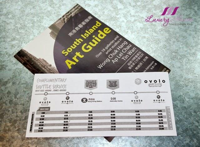 hong kong ovolo southside hotel shuttle bus service
