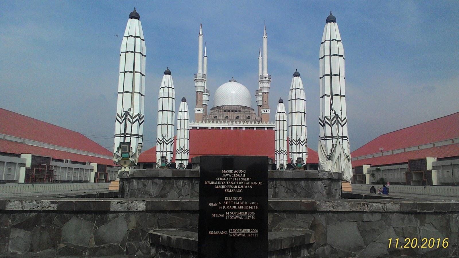 Keunikan Dan Kemegahan Gallery Wisata Religi Masjid Agung Jawa