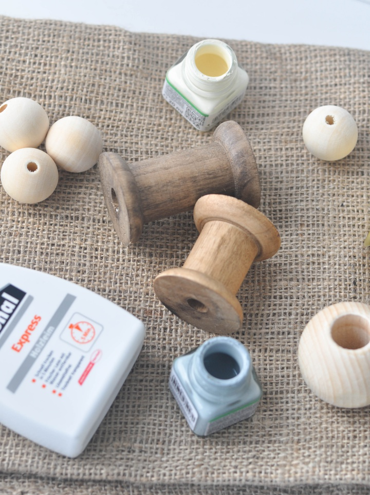 what you need to make your own DIY Candle Holder