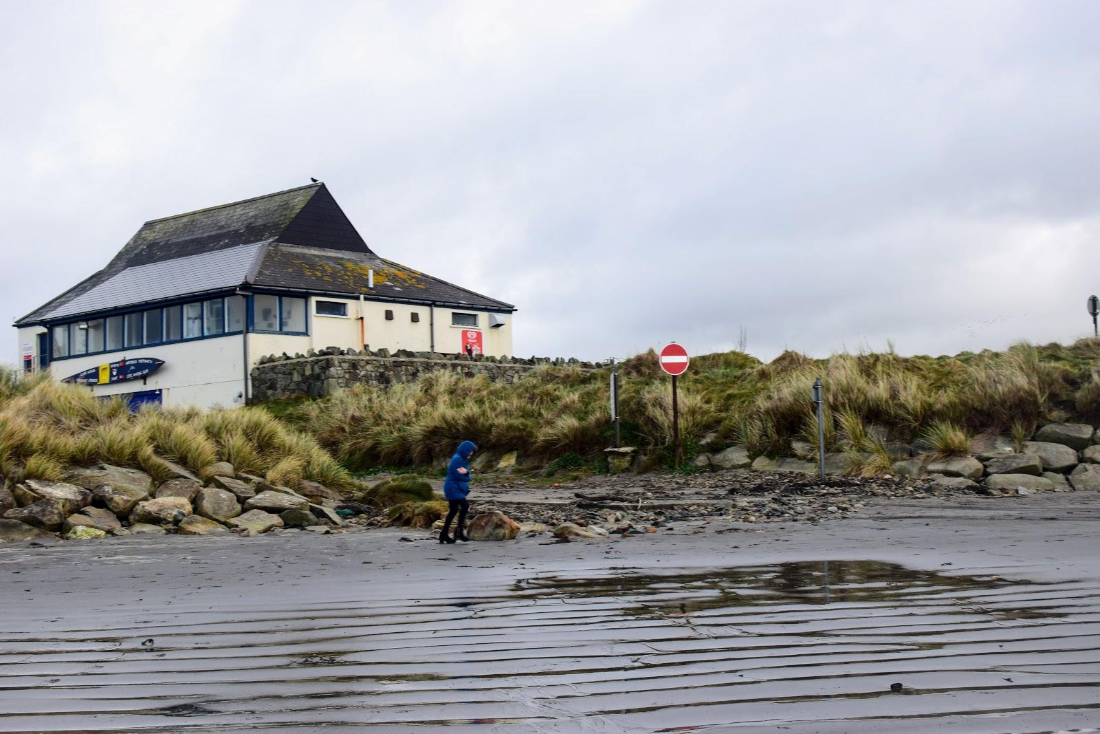 , Clearing the Cobwebs at Newport Sands, Pembrokeshire