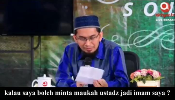 Ustadz Adi Hidayat Dilamar Wanita