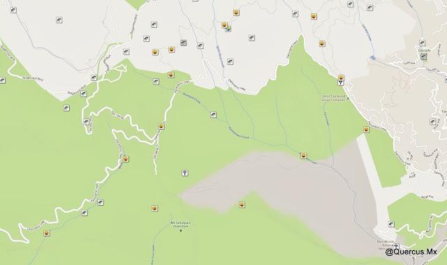 Por las caras felices, se puede ver la ruta que seguí en Muir Woods y Mount Tamalpais