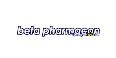 Lowongan Kerja PT. Beta Pharmacon Desember 2020