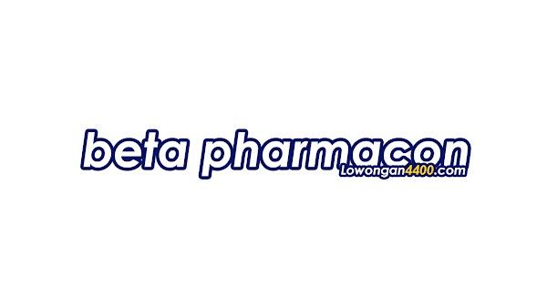 Lowongan Kerja PT. Beta Pharmacon Juni 2020