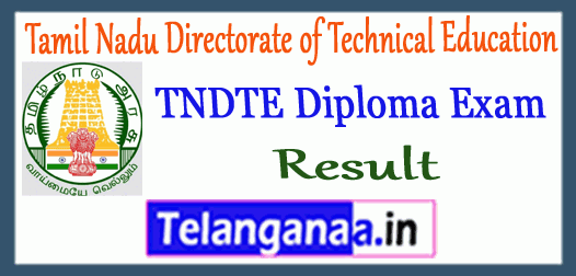 TNDTE Diploma Tamil Nadu Directorate of Technical Education 1st 3rd 5th Semester Result