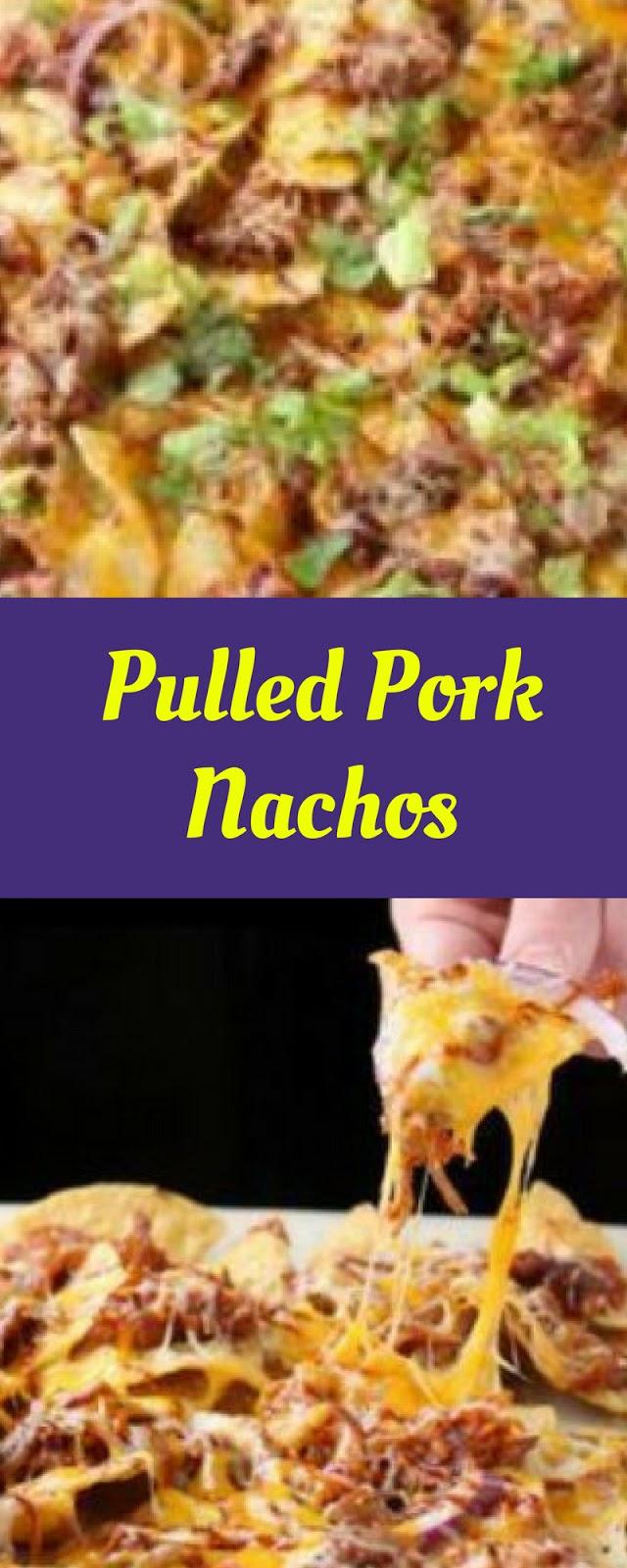 Easy Pulled Pork Nachos