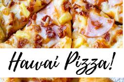 Delicious Hawai Pizza