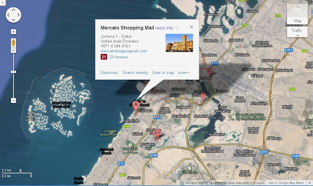 Location Map of Grand Mercato in Jumeirah Dubai,Grand Mercato in Jumeirah Location Map,Grand Mercato Mall Accommodation Destinations Attractions Hotels Maps