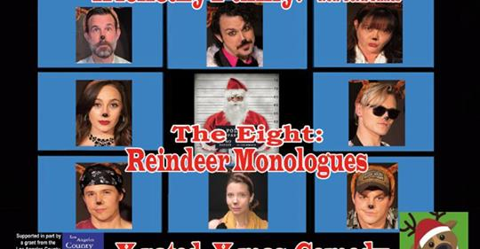 BWW Review: The EIGHT: REINDEER MONOLOGUES Rev Up Uncertainty About Christmas