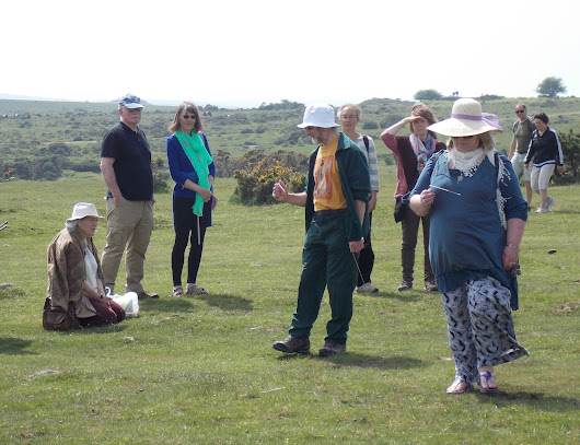 Hurlers Visit with the Tamar Dowsers - Surprises and Circles - June 2016