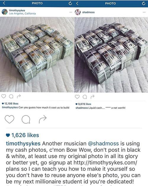 Ouch! Bow Wow Gets Caught...