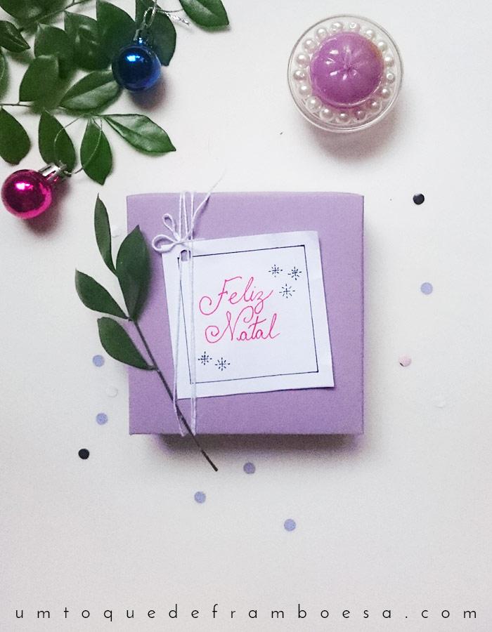 Faça você mesmo lindas caixinhas para presentes em estilo nórdico e minimalista