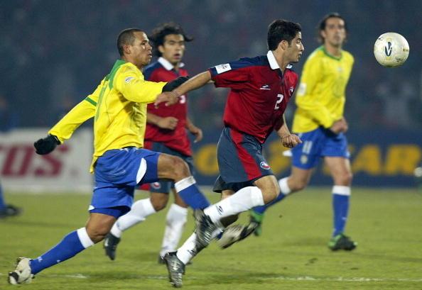 Chile y Brasil en Clasificatorias a Alemania 2006, 6 de junio de 2004