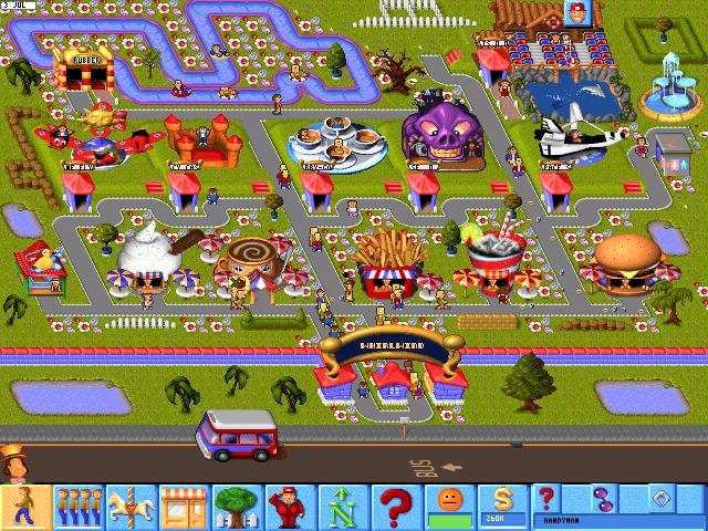 Games que marcaram - Theme Park