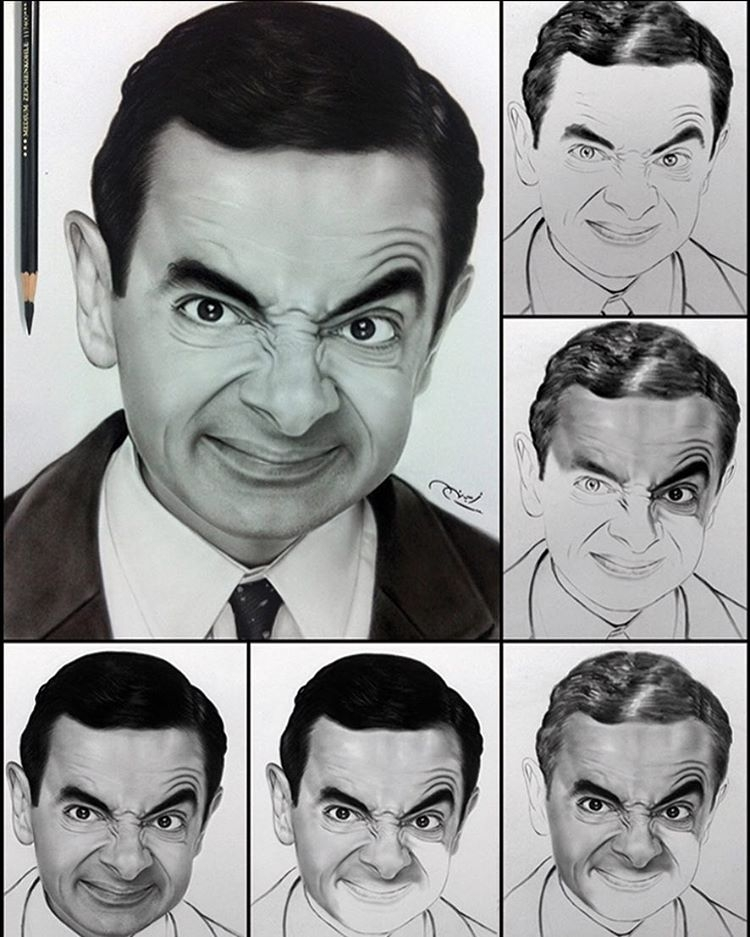 12-Rowan-Atkinson-Mr-Bean-aymanarts-Realistic-Drawings-of-Celebrities-and-Other-www-designstack-co
