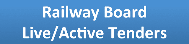 Railway Board Live/Active Tenders