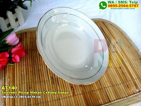 Souvenir Piring Makan Cekung Sango