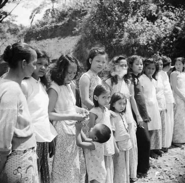 hinese and Malayan girls forcibly taken from Penang by the Japanese to work as 'comfort girls' for the troops. © A.E. Lemon, Imperial War Museums - https://d1esf25emizg2u.cloudfront.net/galleries/d2b4c2b1-349d-4cf9-9909-aa30e581757b/landscape/tablet-web/2803f072-8749-49bd-b156-074f9c0fd497.jpeg