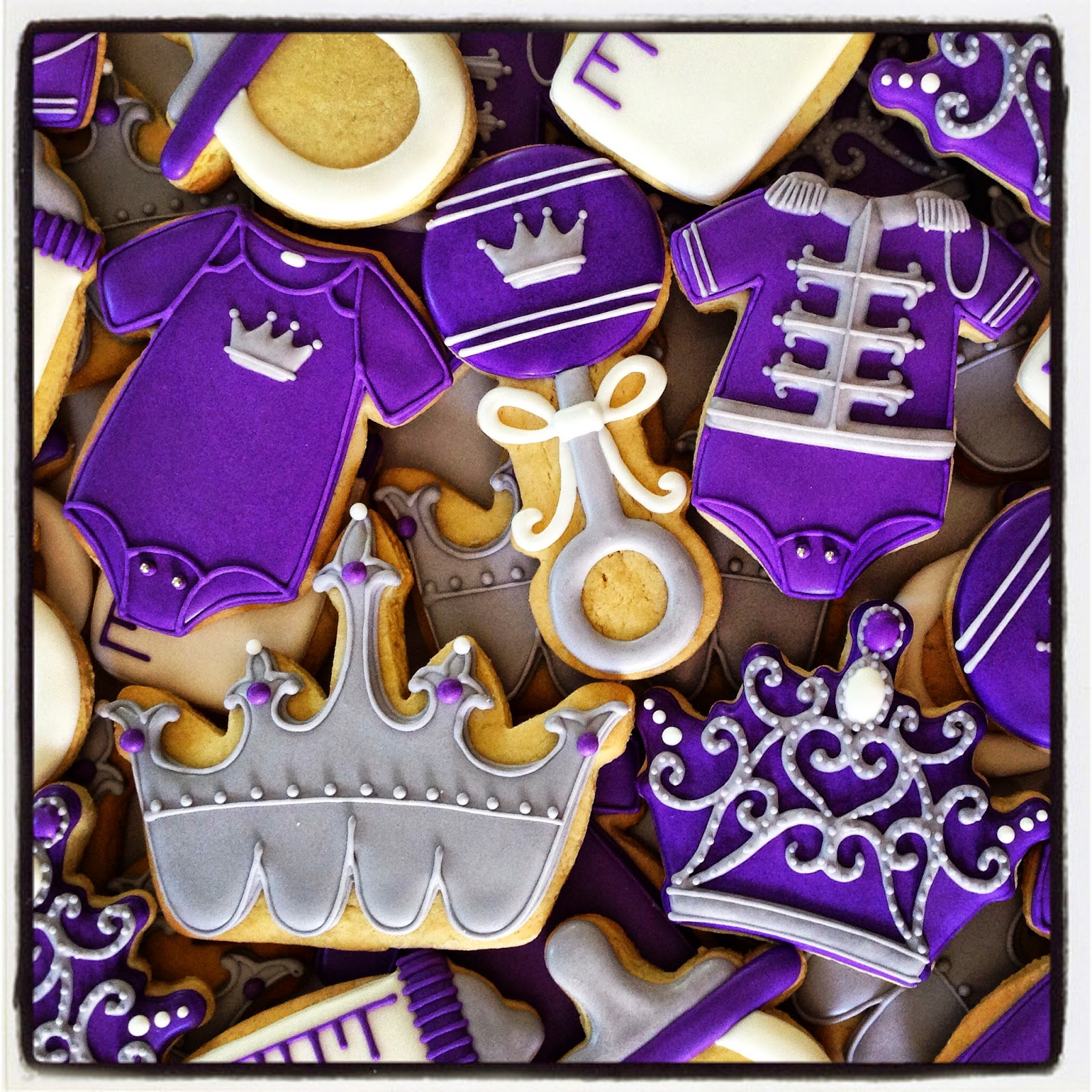 Oh Sugar Events Royal Purple Baby Shower