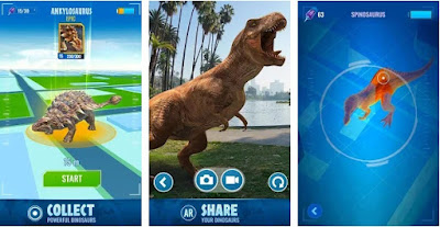 Free Download Jurassic World Alive MOD APK  Jurassic World Alive MOD APK 1.3.16 For Android Update Terbaru (Infinite Battery)