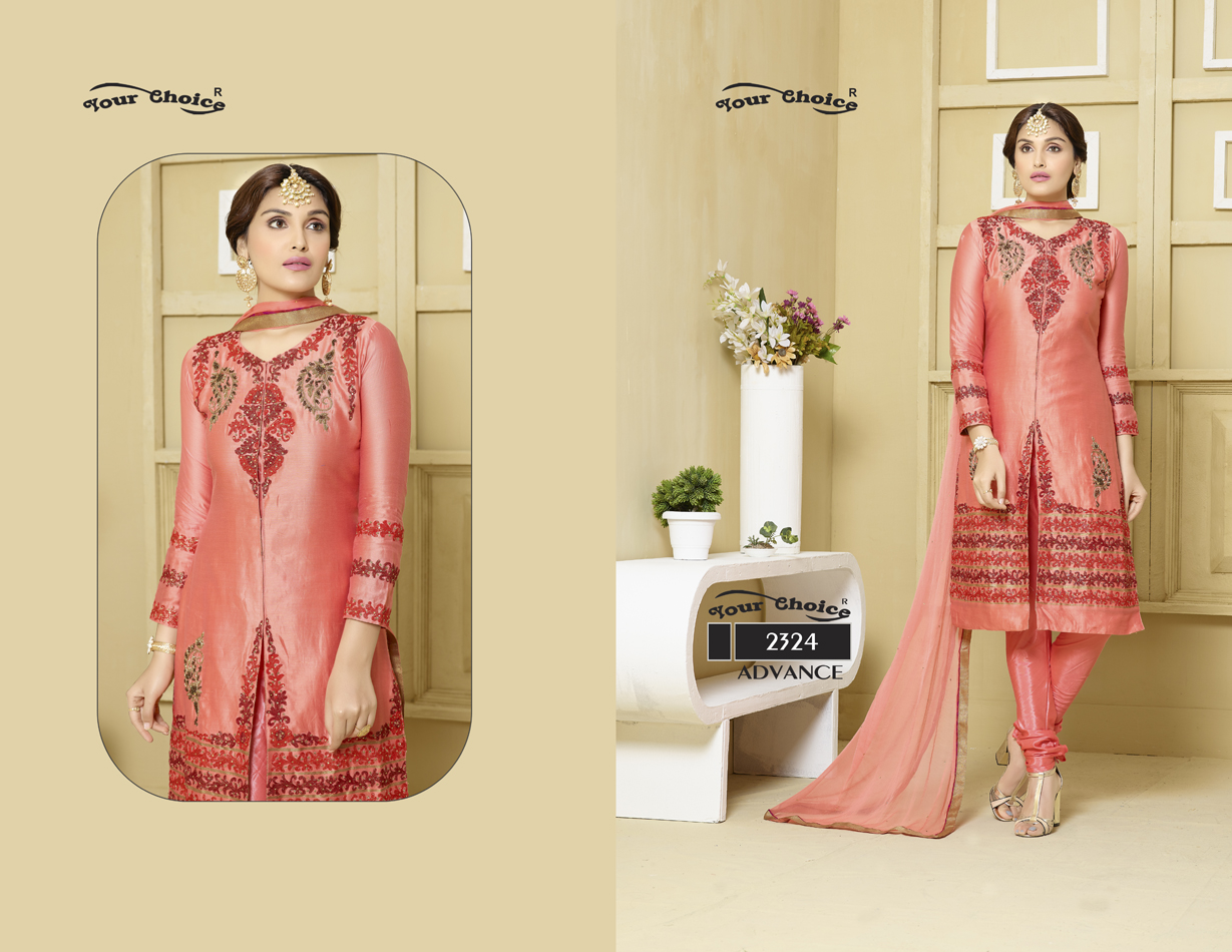 Advance 48 – Latest Jama Satin Cotton Fabric Churidar Salwar Suit