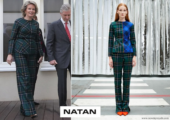 Queen Mathilde wore Natan outfit from FW19 Collection