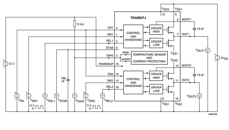 2 x 80 W class-D audio amplifier ~ AmplifierCircuits.com
