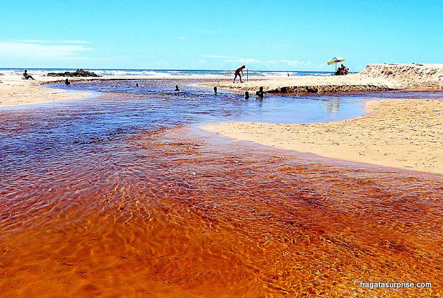 Praia de Imbassaí, Litoral Norte da Bahia