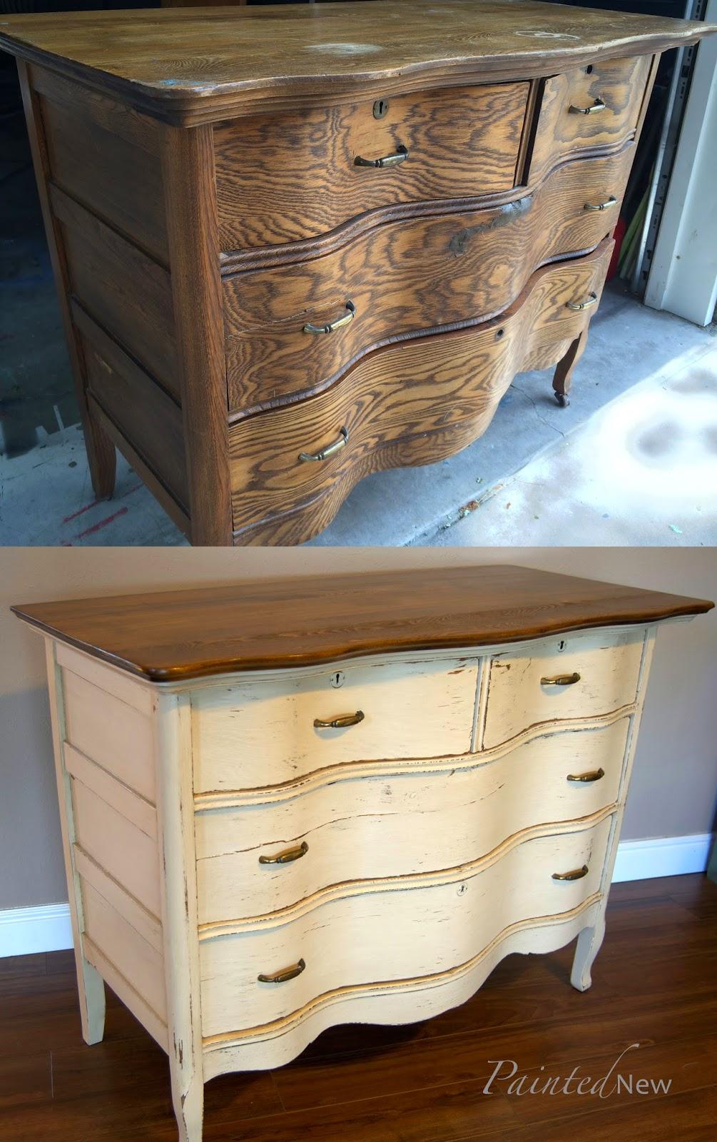 Painted New Antique Quot Shaker Quot Dresser