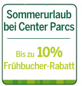 Sommerurlaub bei Center Parcs