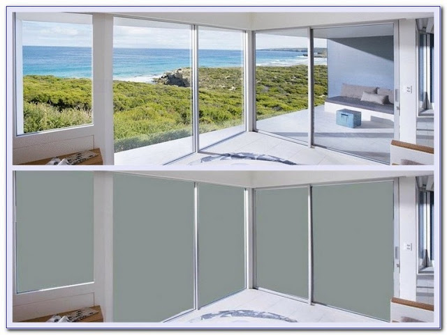 electric frosted privacy glass window
