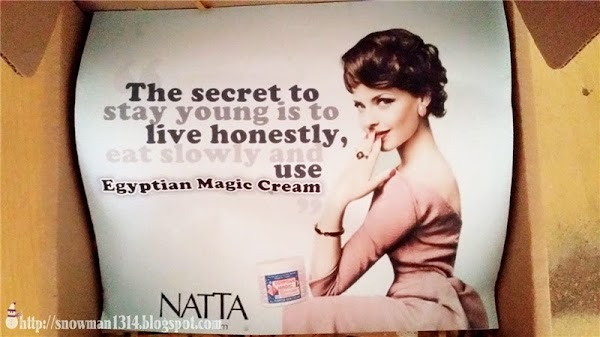 Egyptian Magic Cream @ Natta Cosme