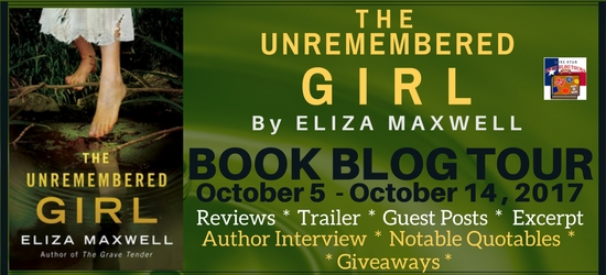The Unremembered Girl Book Blog Tour, Excerpt, and Giveaway #LoneStarLit
