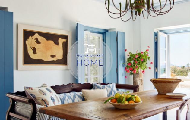 Απόλυτο ...Μπλε & Νησιώτικο στυλ σε συγκρότημα κατοικιών στις Σπέτσες