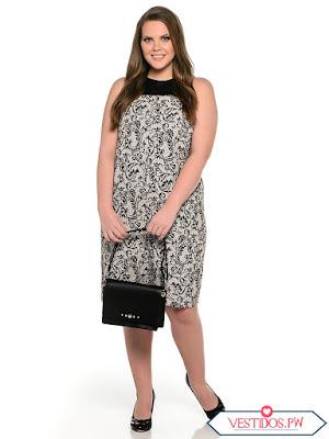 vestidos para gorditas cortos