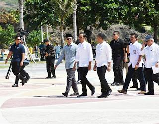 Presiden Jokowi, Mandalika Perkembangannya Bagus