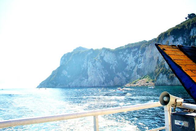 mare, acqua, isola, traghetto, cielo