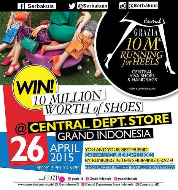 10M Running For Shoes Berhadiah Sepatu senilai 10 Juta