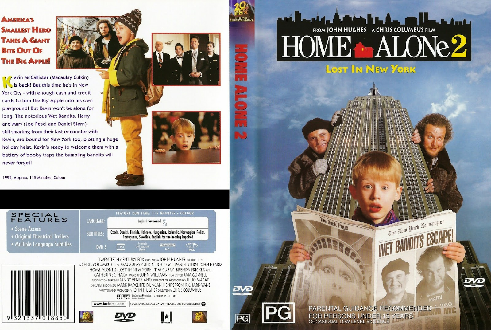 Every Thing Home Alone 2 Lost In New York 1992