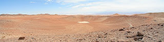 Monturaqui crater, Chile